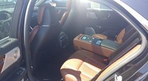 Interior Shot of Lincoln