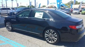 Lincoln Continental Reserve AWD Twin Turbo Side View