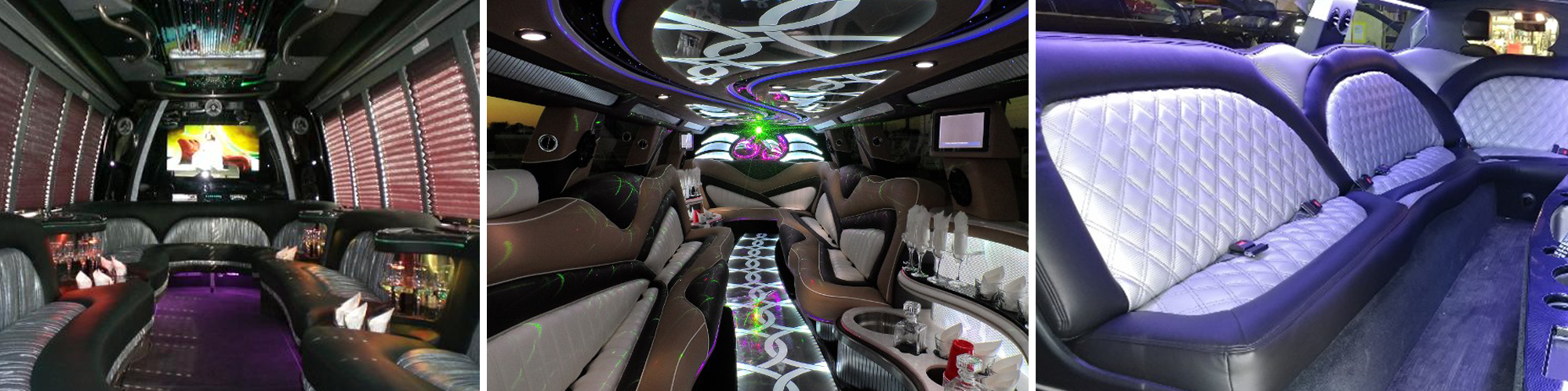 Inside of Limousines